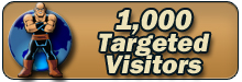 1,000 Targeted Visitors